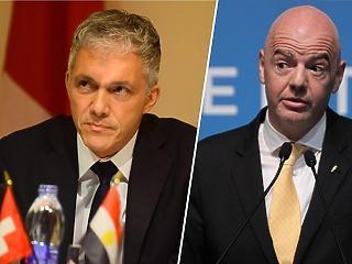 Fifa-botrány: Ez bűzlik - távoznia kell a svájci szövetségi ügyésznek, mert találkozott Infantinóval