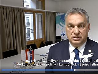 Orbán a Facebook-botrányról: nagy a felháborodás Brüsszelben