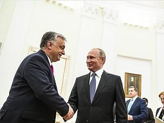Paksról, gázról és fociról beszélt Orbán és Putyin