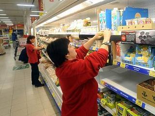 Pánikvásárlások: a fővárosiak és a komárom megyeiek szabadultak be először a boltokba