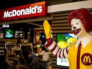 30,3 milliárdos zálogjog terheli a nagy McDonald's-üzletet