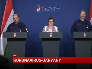Itt nézhető élőben az operatív törzs mai sajtótájékoztatója