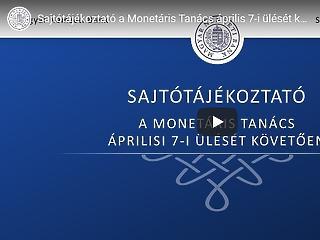 Itt nézhető vissza Matolcsy Györgyék sajtótájékoztatója