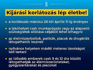 Kijárási korlátozás jön Magyarországon