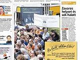 Reklámverseny a Metro újságban