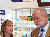 Gyógyszerértékesítés a dm-ben