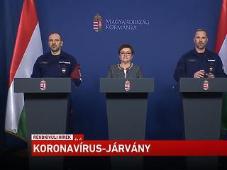 Itt nézheti élőben az operatív törzs mai sajtótájékoztatóját