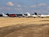Forma-1-es pilótákkal és szupergépekkel volt tele Ferihegy