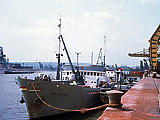 A csepeli szabadkikötő