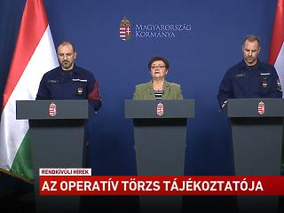 Itt nézhető vissza a mai operatív törzs-sajtótájékoztató, a Palkovics-féle bejelentéssel együtt