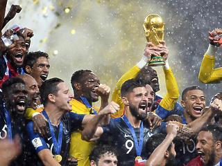 Pénzeső hullott a világbajnok franciákra