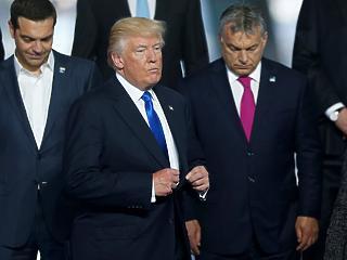 Trump Magyarországgal példálózott migránsügyben