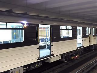 Karácsony: 34,8 fok van a 3-as metró orosz szerelvényein