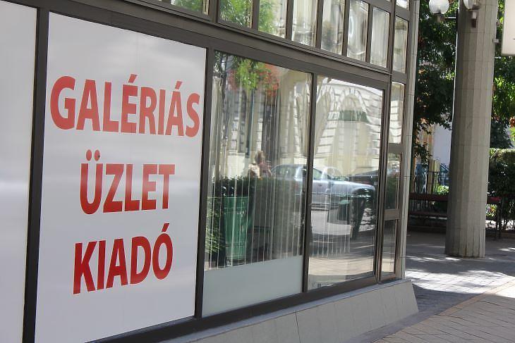 A budapesti Nagykörúton egyre több a kiadó üzlethelyiség (fotó: Mester Nándor)