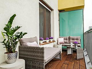 Az új lakások kötelező eleme a terasz