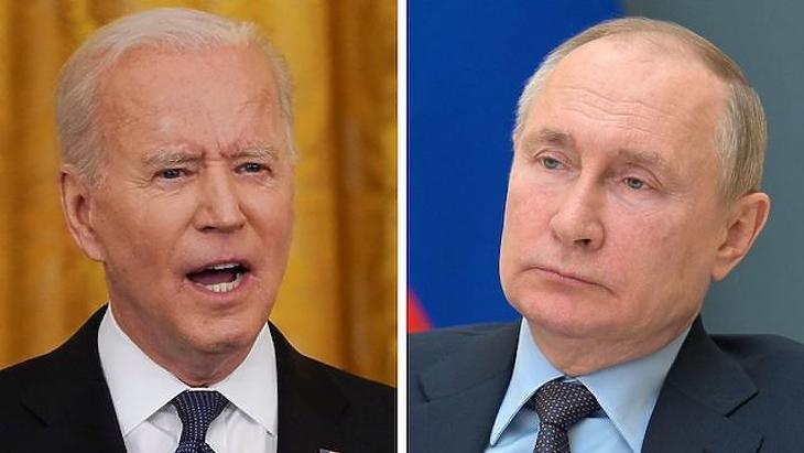 Biden keményen figyelmeztetheti Putyint. Fotó: BBC