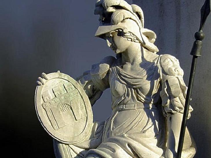Pallas Athéné szobra