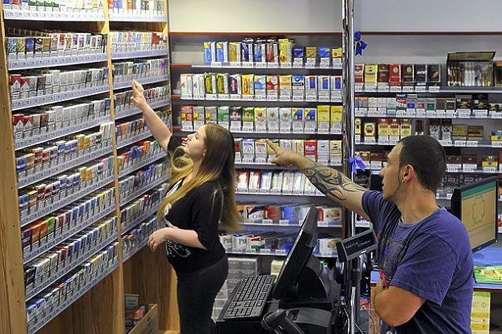 Egyre drágább a cigaretta Fotó: MTI