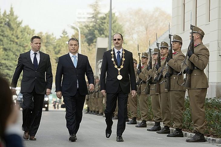 Orbán Viktor miniszterelnök a Ludovica Campus épületének átadó ünnepségén