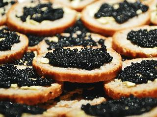Több mint 22 ezer tonna kaviárt termelt Oroszország tavaly