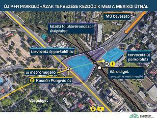Óriási parkolóházakat építenek a Városliget mögé
