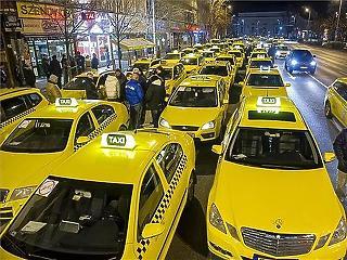 Idén nem emelik a taxis tarifát a fővárosban