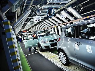 Leáll az esztergomi Suzuki-gyár