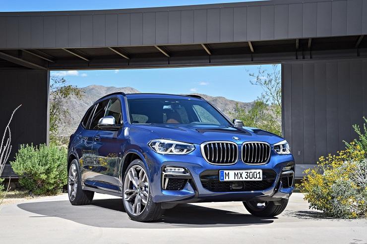 A BMW X3 Spartanburgban készül
