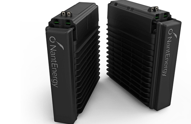 Az újfajta akkumulátorok. (forrás: NantEnergy)