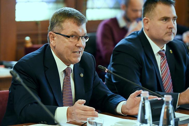 Matolcsy György a gazdasági bizottság előtt