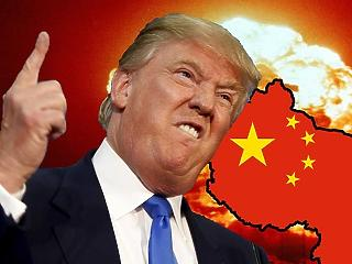 Beütött a kereskedelmi háború: rossz adat jött Kínából