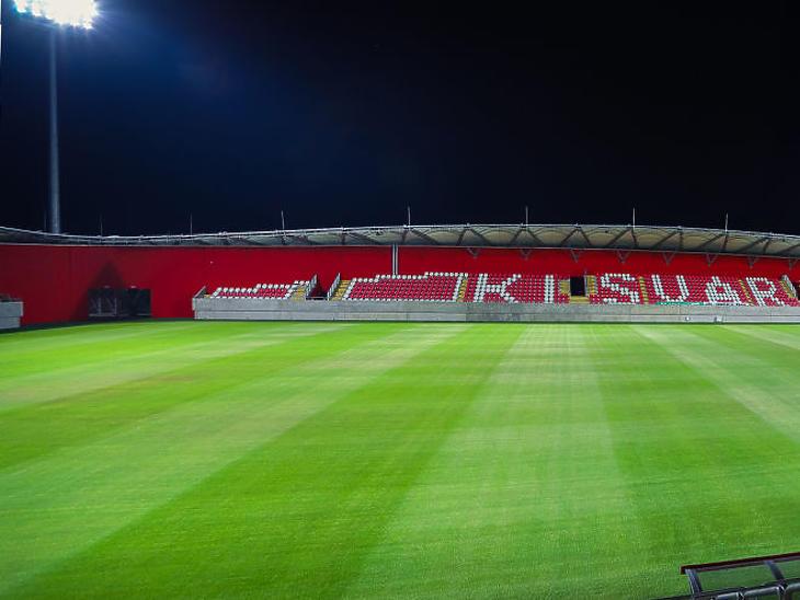 A stadion augusztusban készült el (Fotó: kisvardafc.hu)