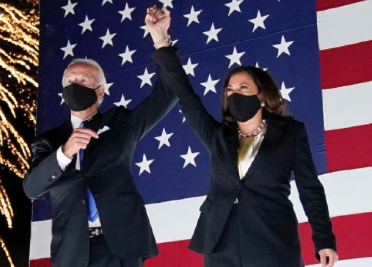 Biden és Harris új korszakot ígér (forrás:Facebook)