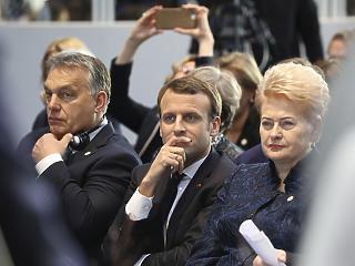 Orbán Viktor Párizsba megy Emmanuel Macronhoz