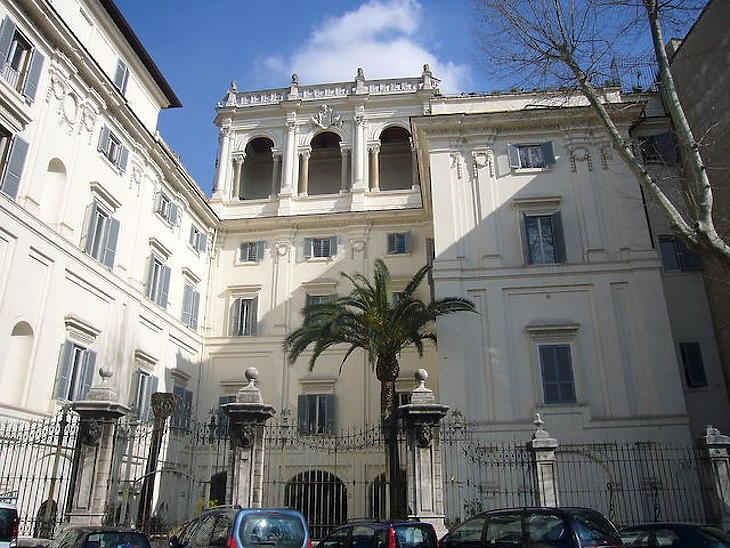 A Római Magyar Akadémia. Fotó: wikipédia