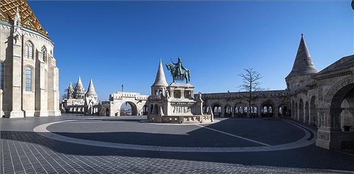 Budapest kiürült (MTI/Szigetváry Zsolt)