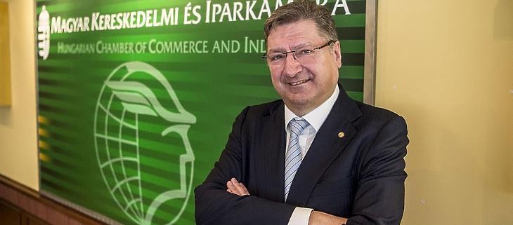 Parragh László, az MKIK elnöke