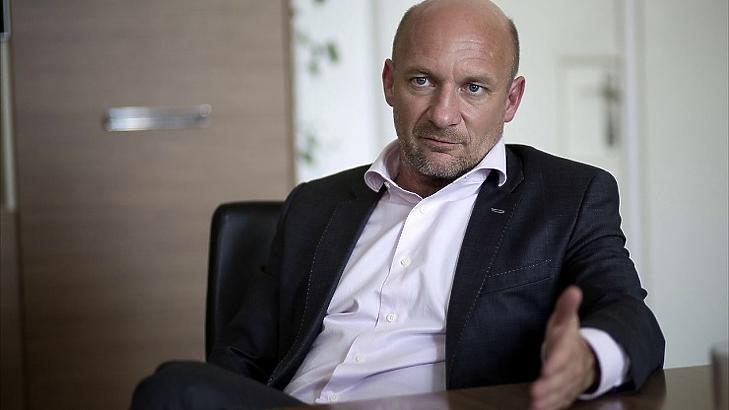 Bernáth Tamás, az MFB távozó vezére
