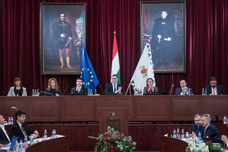 Fővárosi Közgyűlés alakuló ülés forrás: MTI