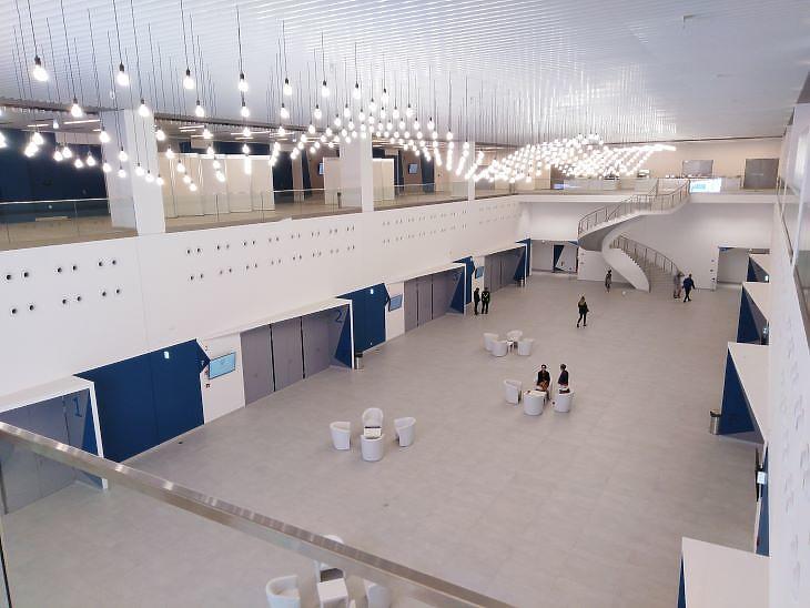 Összesen 24 kisebb termet alakítottak ki az új kongresszusi központban (fotó: Mester Nándor)