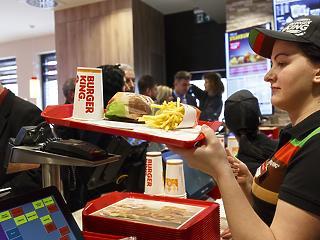 20 új Burger King nyithat meg a következő 5 évben