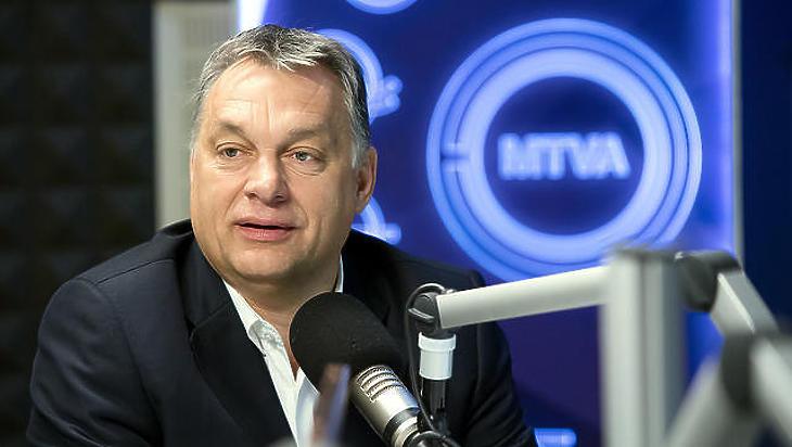 Orbán Viktor interjút ad egy korábbi alkalommal