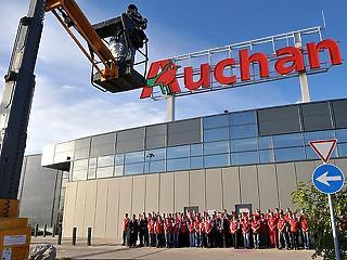 Négy új áruházat nyit idén az országban az Auchan