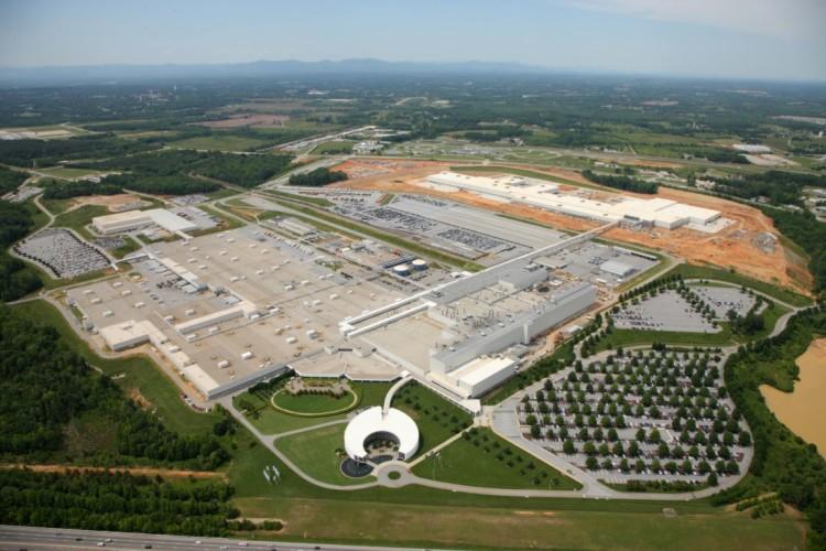 A BMW spartanburgi gyára