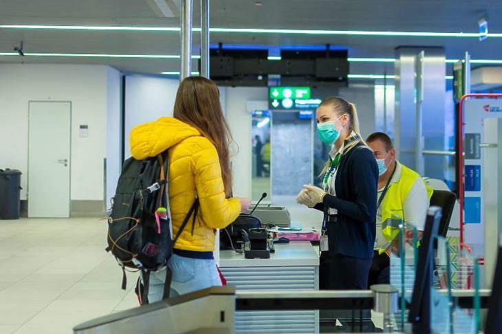 A járvány megtizedelte az utasforgalmat (fotó: Budapest Airport)