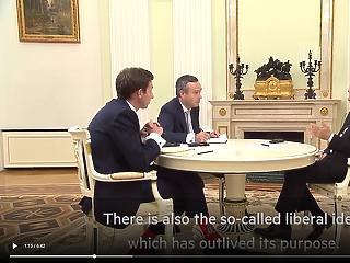 Putyin a Financial Times-nak: idejétmúlttá vált a liberális eszme