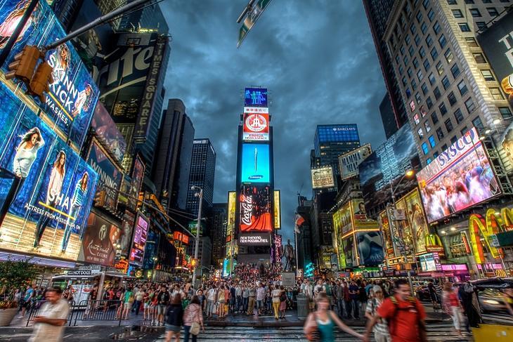 New York, Times Square. (Depositphotos/Paul Cowell)