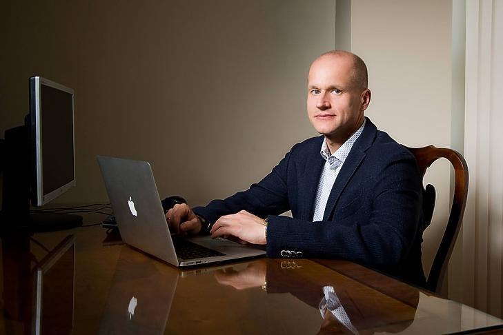 Dr. Kollár Mihály, az Istenhegyi Magánklinika vezetője. Fotó: Istenhegyi Magánklinika