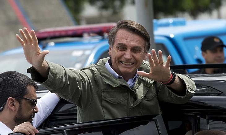 Jair Bolsonaro (Fotó: AP)