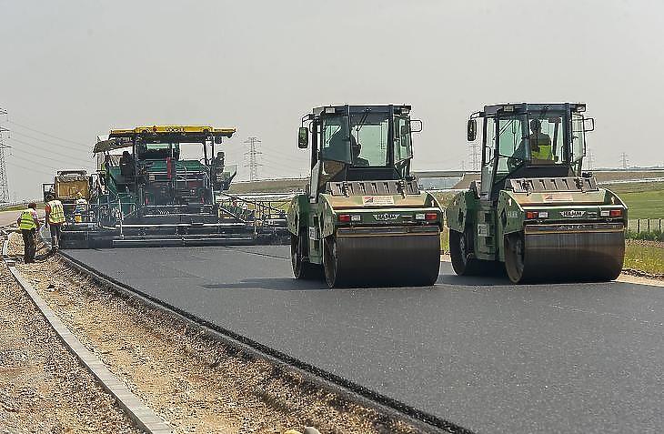 Csökkent az állami rendelésállomány a mélyépítéseknél (fotó:MTI)
